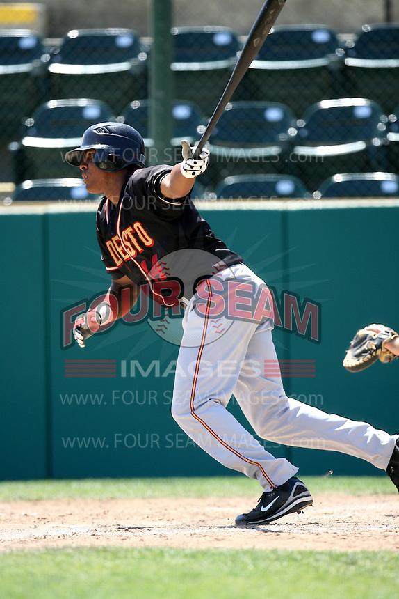 Daniel Mayora / Modesto Nuts..Photo by:  Bill Mitchell/Four Seam Images