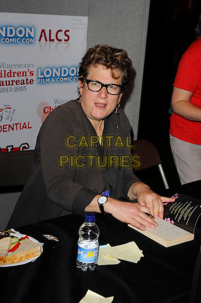 LONDON, ENGLAND - JULY 13: Meg Rosoff attending London Film and Comic Con 2014 at Earls Court on July 13, 2014 in London, England.<br /> CAP/MAR<br /> &copy; Martin Harris/Capital Pictures