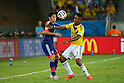 (L to R) <br /> Shinji Kagawa (JPN), <br /> Carlos Sanchez (COL), <br /> JUNE 24, 2014 - Football /Soccer : <br /> 2014 FIFA World Cup Brazil <br /> Group Match -Group C- <br /> between Japan 1-4 Colombia <br /> at Arena Pantanal, Cuiaba, Brazil. <br /> (Photo by YUTAKA/AFLO SPORT)