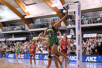 Pulse' Aliyah Dunn in action during the ANZ Premiership - Pulse v Tactix at Fly Palmy Arena, Palmerston North, New Zealand on Sunday 10 March 2019. <br /> Photo by Masanori Udagawa. <br /> www.photowellington.photoshelter.com