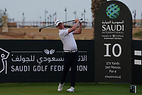 Justin Harding (RSA) on the 10th during Round 2 of the Saudi International at the Royal Greens Golf and Country Club, King Abdullah Economic City, Saudi Arabia. 31/01/2020<br /> Picture: Golffile | Thos Caffrey<br /> <br /> <br /> All photo usage must carry mandatory copyright credit (© Golffile | Thos Caffrey)