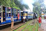 Nilgiri mountain railway, steam train stop