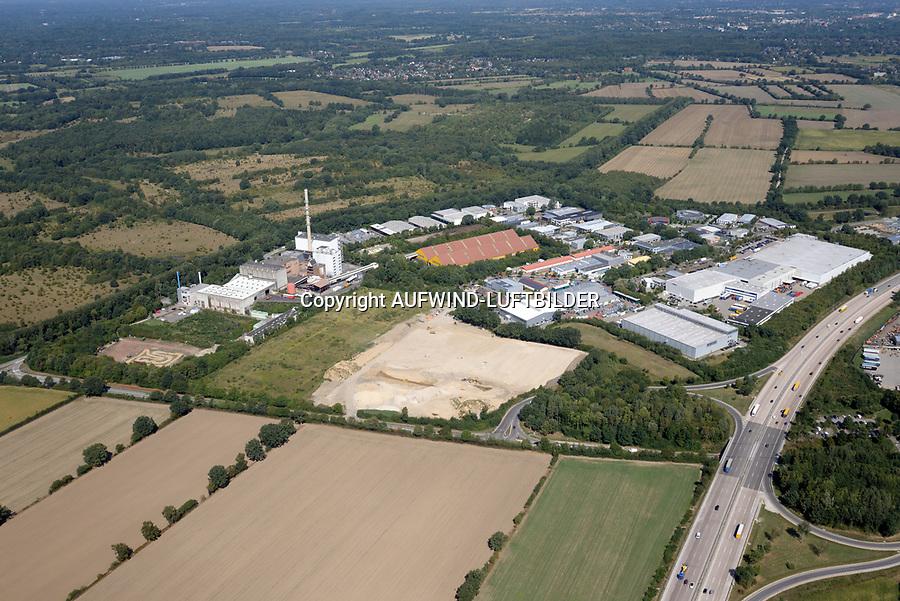 Stapelfeld Müllverbrennung und Gewerbegebiet: EUROPA, DEUTSCHLAND, SCHLESWIG- HOLSTEIN, STAPELFELD 22.08.2018:Stapelfeld Müllverbrennung und Gewerbegebiet