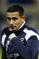 Tim Cahill of Millwall seen during the Sky Bet Championship match between Millwall and Sheff Wednesday at The Den, London, England on 20 February 2018. Photo by Carlton Myrie.