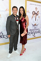 "LOS ANGELES - JUL 25:  Adam DeVine, Chloe Bridges_ at the ""The Righteous Gemstones"" Premiere Screening at the Paramount Theater on July 25, 2019 in Los Angeles, CA"