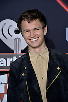 Ansel Elgort at the 2017 iHeartRadio Music Awards at The Forum, Los Angeles, USA 05 March  2017<br /> Picture: Paul Smith/Featureflash/SilverHub 0208 004 5359 sales@silverhubmedia.com
