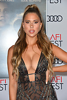 """LOS ANGELES, USA. November 20, 2019: Kara Del Toro at the gala screening for """"The Aeronauts"""" as part of the AFI Fest 2019 at the TCL Chinese Theatre.<br /> Picture: Paul Smith/Featureflash"""