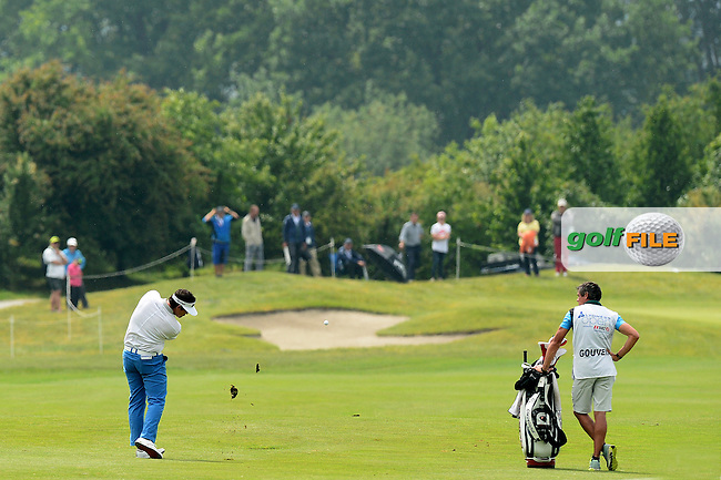 Ricardo Gouveia of Portugal during Round 4 of the Lyoness Open, Diamond Country Club, Atzenbrugg, Austria. 12/06/2016<br /> Picture: Richard Martin-Roberts / Golffile<br /> <br /> All photos usage must carry mandatory copyright credit (&copy; Golffile | Richard Martin- Roberts)