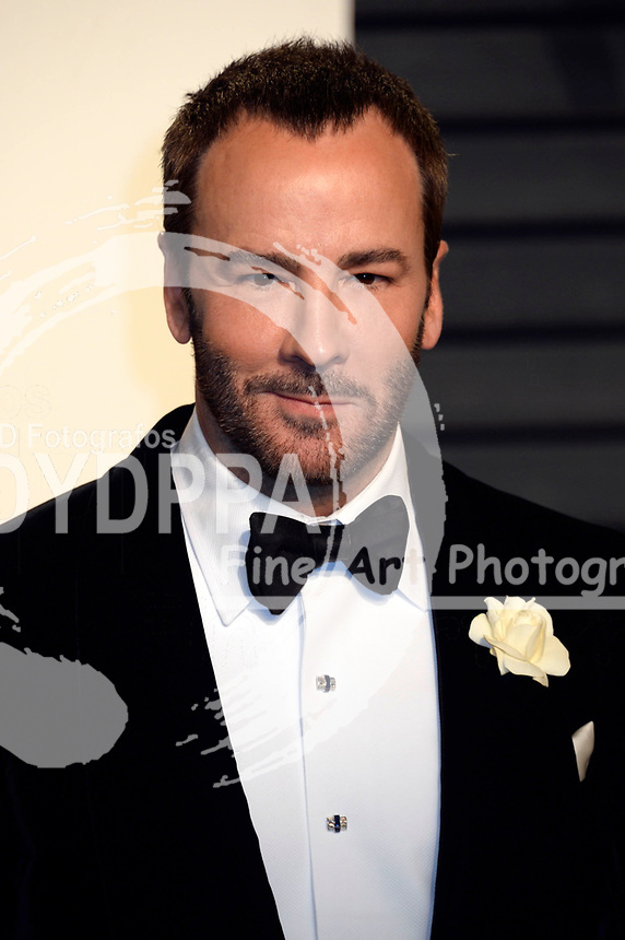 Tom Ford attends the 2017 Vanity Fair Oscar Party hosted by Graydon Carter at Wallis Annenberg Center for the Performing Arts on February 26, 2017 in Beverly Hills, California.