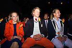 Nederland, Amsterdam, 4 juli 2012.Seizoen 2012/2013.NOC NSF het Olympic en Paralympic Team Netherlands.Celine van Gerner en Epke Zonderland in hun nieuwe olympische outfit