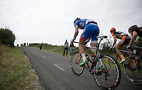 Frederik Veuchelen (BEL/Wanty-Groupe Gobert) up La Redoute (1650m/9.7%)<br /> <br /> stage 4: Hotel Verviers - La Gileppe (187km)<br /> 29th Ster ZLM Tour 2015