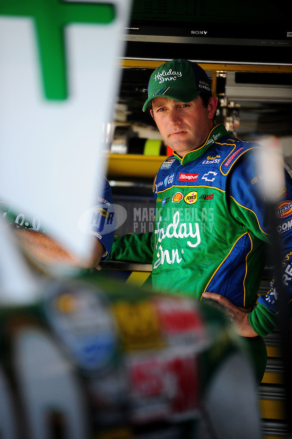 May 30, 2008; Dover, DE, USA; Nascar Nationwide Series driver Scott Wimmer during practice for the Heluva Good 200 at the Dover International Speedway. Mandatory Credit: Mark J. Rebilas-US PRESSWIRE