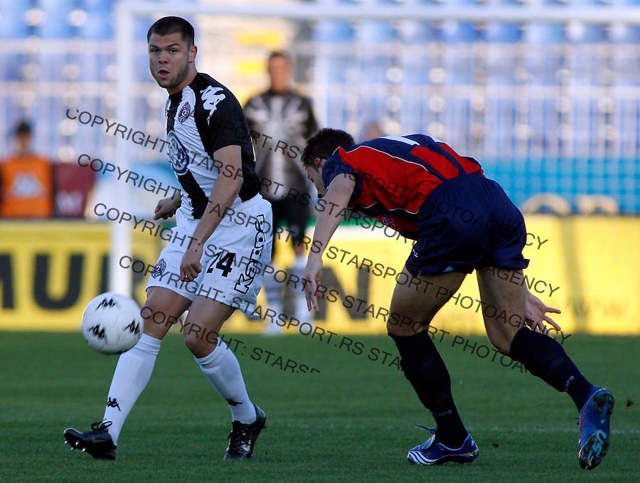Fudbal, Super league, play off, season 2006/07.Partizan Vs. Bezanija.Nemanja Rnic.Beograd, 14.04.2007..foto: Srdjan Stevanovic
