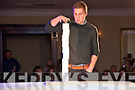 """The Cube: Attending """"The Cube """"  game show organized by Listowel Ladies GAA at the Listowel Arms Hotel on Saturday night last was guest of honour Peter Crowley completing one of the tasks of the Cube game."""