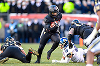 PHILADELPHIA, PA - DEC 8, 2018: Army Black Knights quarterback Kelvin Hopkins Jr. (8) runs the football during game between Army and Navy at Lincoln Financial Field in Philadelphia, PA. Army defeated Navy 17-10 to win the Commander in Chief Cup. (Photo by Phil Peters/Media Images International)
