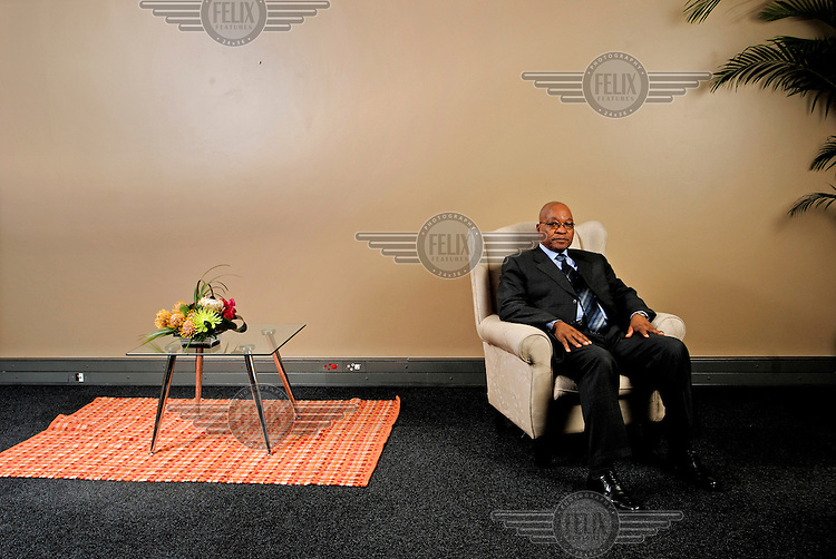 South African President Jacob Zuma...