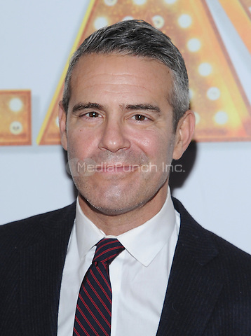 New York,NY-October 9: Andy Cohen attends 'It's Only A Play' Broadway Opening Night - Arrivals And Curtain Call at Gerald Schoenfeld Theatre in New York City on October 9, 2014. Credit: John Palmer/MediaPunch