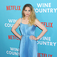 "Anna Chlumsky at the World Premiere of ""WINE COUNTRY"" at the Paris Theater in New York, New York , USA, 08 May 2019"