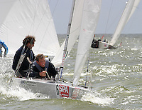 20th SPA Regatta - Medemblik.26-30 May 2004..Copyright free image for editorial use. Please credit Peter Bentley..Mark Neeleman - NED