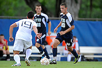 10 September 2011:  FIU's Roberto De Sousa (20) moves the ball towards the goal in the first half as the FIU Golden Panthers defeated the Stetson University Hatters, 3-2 in the second overtime period, at University Park Stadium in Miami, Florida.