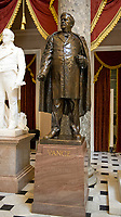 Statue of Zebulon Vance that is part of the National Statuary Hall Collection in the United States Capitol in Washington, DC on Thursday, August 31, 2017.   The statue of Governor Vance was given to the Collection by the State of North Carolina in 1916. The collection is comprised of 100 statues, two from each state.  Of those, twelve depict Confederate leaders.  The statues have become controversial and there have been calls for their removal from the US Capitol.<br /> Credit: Ron Sachs / CNP /MediaPunch