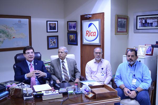 Julio Virgilio Brache, Diego Blanco Genao, Miguel Aredondo y Alfredo Rios.