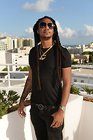 MIAMI BEACH, FL - OCTOBER 05: Iceberg Slimm poses for a portrait during the Empire Records DJ party held at Skydeck on October 5, 2018 in Miami Beach, Florida. <br /> CAP/MPI04<br /> &copy;MPI04/Capital Pictures