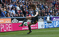 HUDDERSFIELD, ENGLAND - APRIL 06:  Leicester City's Caglar Soyuncu during the Premier League match between Huddersfield Town and Leicester City at John Smith's Stadium on April 6, 2019 in Huddersfield, United Kingdom. (Photo by Stephen White - CameraSport via Getty Images)