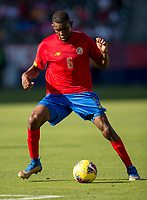 CARSON, CA - FEBRUARY 1: Keyner Brown #6 of Costa Rica during a game between Costa Rica and USMNT at Dignity Health Sports Park on February 1, 2020 in Carson, California.