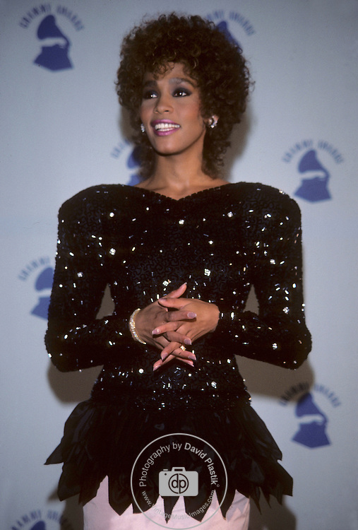 Whitney Houston at 1987 Grammy Awards