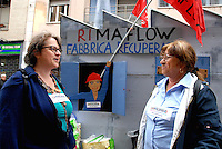 Milano 1 may 2015<br /> Demonstration against EXPO 2015.<br /> Rimaflow workers fightings for their rights.<br /> Photo Livio Senigalliesi