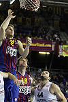 Rabaseda, Wallace & Ivanov. FC Barcelona Regal vs Lietuvos Rytas : 90 - 66.