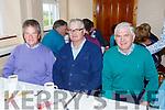 John O'Connor, John Batty Cronin and Bertie O'Leary at the Toureencahill Community funday on Sunday