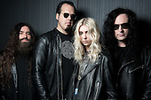 Oct 04, 2016: PRETTY RECKLESS - Photosession in Paris France