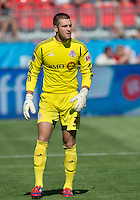 August 18, 2012: Toronto FC goalkeeper Milos Kocic #30 in action during an MLS game between Toronto FC and Sporting Kansas City at BMO Field in Toronto, Ontario Canada..Sporting Kansas City won 1-0.