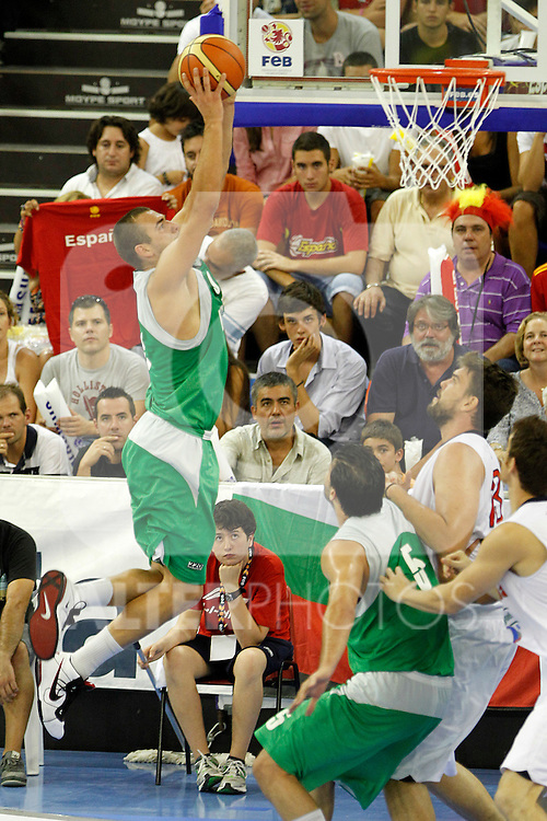 Bulgaria's Aleksandar Gruev during friendly match.August 13,2011. (ALTERPHOTOS/Acero)