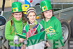 Tralee United v Liselton in the Castlebar Cup on Sunday at FLAGS: Lily Beauseigneur,Kevin Pereria and Emily Beauseigneur flying their flags at the St patrick's Day Parade on Monday in Ballybunion. ..   Copyright Kerry's Eye 2008