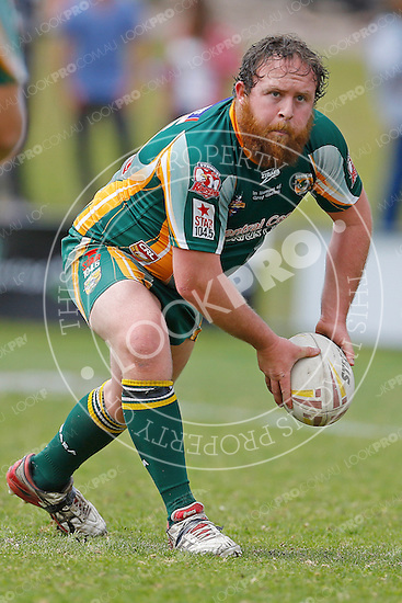 The Wyong Roos play Ourimbah Magpies in the Open Age Grand Final at Morry Breen Oval on 19 September, 2015 in Kanwal, NSW Australia. (Photo by Paul Barkley/LookPro)