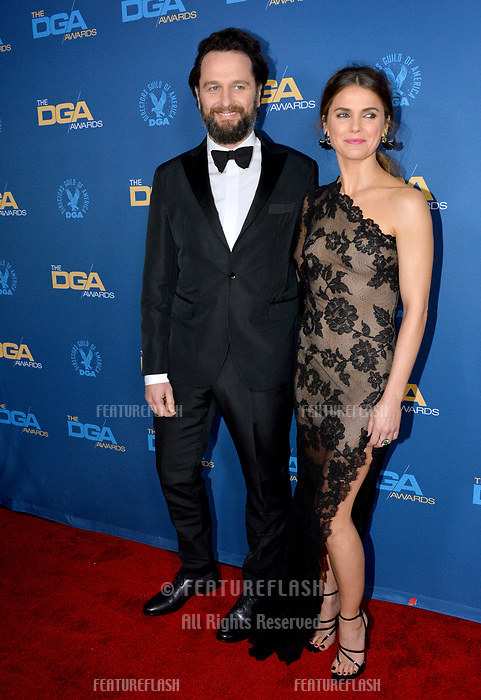 LOS ANGELES, CA. February 02, 2019: Keri Russell & Matthew Rhys at the 71st Annual Directors Guild of America Awards at the Ray Dolby Ballroom.<br /> Picture: Paul Smith/Featureflash