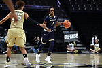 WINSTON-SALEM, NC - DECEMBER 31: Notre Dame's Lili Thompson. The Wake Forest University Demon Deacons hosted the Notre Dame University Fighting Irish on December 31, 2017 at Lawrence Joel Veterans Memorial Coliseum in Winston-Salem, NC in a Division I women's college basketball game. Notre Dame won the game 96-73.