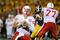 Nebraska Cornhuskers quarterback Sam Keller  looks for a receiver down field at Memorial Stadium in Columbia, Missouri on October 6, 2007. The Tigers won 41-6.