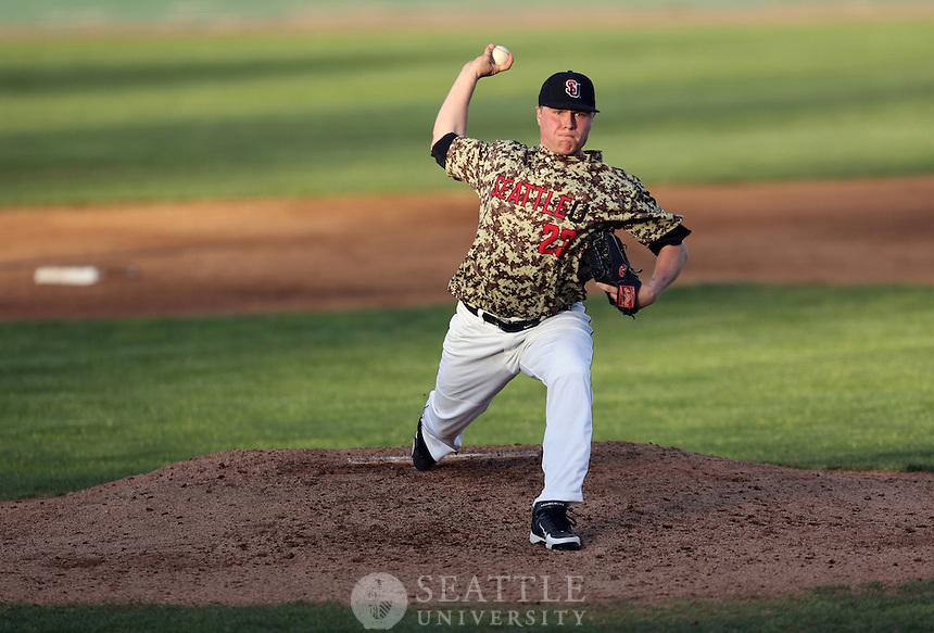 04232012-  Seattle University vs. Washington State University men's baseball at Everett Memorial Stadium