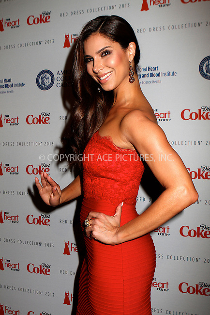 WWW.ACEPIXS.COM....February 6 2013, New York City....Roselyn Sanchez arriving atThe Heart Truth's Red Dress Collection during Fall 2013 Mercedes-Benz Fashion Week at Hammerstein Ballroom on February 6, 2013 in New York City. ......By Line: Nancy Rivera/ACE Pictures......ACE Pictures, Inc...tel: 646 769 0430..Email: info@acepixs.com..www.acepixs.com