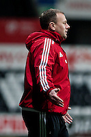 Monday 20 January 2014<br /> Pictured: Kiristan O'Leary Re: Swansea City U21 v Cardiff City U21 at the Liberty Stadium, Swansea Wales