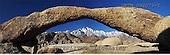 Tom Mackie, LANDSCAPES, panoramic, photos, Natural Arch, Alabama Hills, Lone Pine, California, USA, GBTM090073-2,#L#
