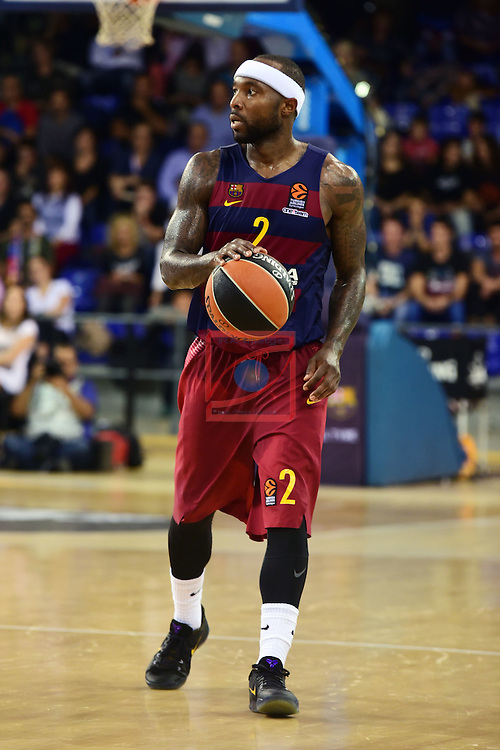 Turkish Airlines Euroleague 2016/2017.<br /> Regular Season - Round 4.<br /> FC Barcelona Lassa vs Brose Bamberg: 78-74.<br /> Tyrese Rice.