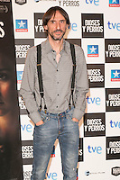 "Juan Codina attends the ""DIOSES Y PERROS "" Movie presentation at Kinepolis Cinema in Madrid, Spain. October 6, 2014. (ALTERPHOTOS/Carlos Dafonte) /nortephoto.com"