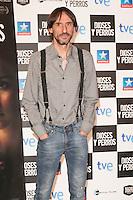 """Juan Codina attends the """"DIOSES Y PERROS """" Movie presentation at Kinepolis Cinema in Madrid, Spain. October 6, 2014. (ALTERPHOTOS/Carlos Dafonte) /nortephoto.com"""