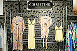 Christine outfits on display during the CURVENY Designer Lingerie & Swim show, at the Jacob Javits Convention Center, August 3, 2010.