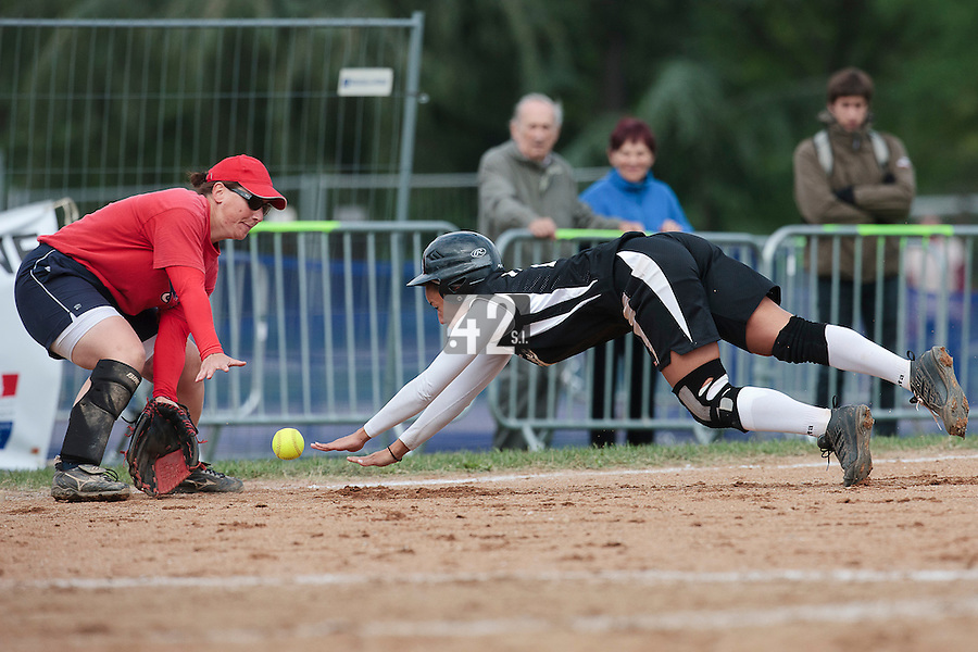 25 September 2010: Equipe de Toulon. Finale du Championnat de France de Softball Feminin, Bron, France.